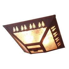 Cabin Light Fixtures Rustic Ceiling Lights Free Shipping At Lakecabin Depot