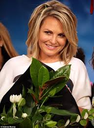 news anchor in la hair today news anchor georgie gardner breaks down in tears as she bids