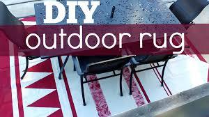 Diy Outdoor Rug Diy Outdoor Rug