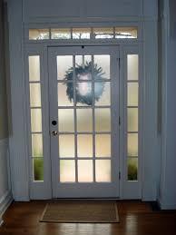 Frosted Glass Exterior Door Frosted Glass Front Door Handballtunisie Org