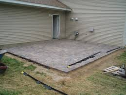 how to install a patio with pavers video home outdoor decoration