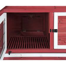 Precision Old Red Barn Chicken Coop Precision Pet Old Red Barn Rabbit Hutch By Precision Pet At Mills