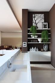 shelves in kitchen ideas lovely cleanlines kitchen decor ideas offer l shape white