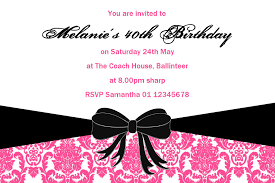18th Birthday Invitation Card Personalised Birthday Invitation Design 15