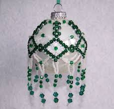 1106 best beaded tree ornament images on