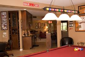 pool table light fixture basement eclectic with iron pool table