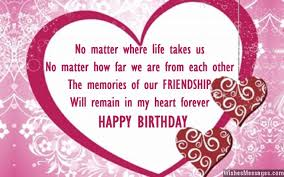birthday card for best friends birthday wishes for best friend quotes and messages
