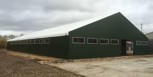 Tent Building Office Industrial Building Industrial Hangar Lightly Framed