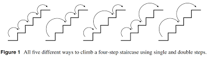 Stair Post Height by Discrete Mathematics How Many Distinct Ways To Climb Stairs In 1