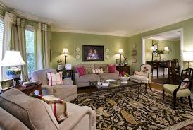traditional rug with beige sofa for amazing living room ideas with