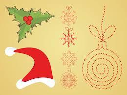 vector christmas decorations vector art u0026 graphics freevector com