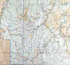 Map Of Sd Trail Map Of Black Hills National Forest Northeast South Dakota