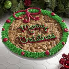 mrs fields cookie cakes mrs fields merry christmas cranberry cookie cake