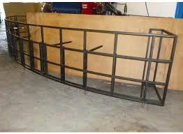 Steel Frame Desk Reception Desk Frame