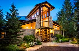 custom vail mansion offers ski in ski out views and privacy for