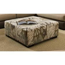 Seagrass Storage Ottoman Coffe Table Oversized Ottoman Coffee Table Square Tables Tufted