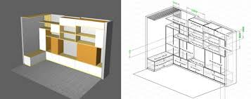 wood designer stair and furniture design software