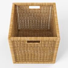 wicker rattan basket 07 natural 3d cgtrader