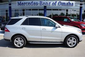 pre owned mercedes m class certified pre owned 2015 mercedes m class ml 350 suv in omaha