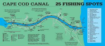 2017 cape cod canal cheat sheet on the water