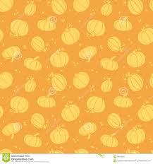 thanksgiving golden pumpkins seamless pattern stock vector image
