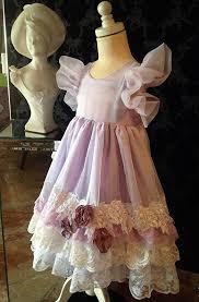 easter sunday pale lavender and white vintage lace embellished