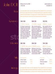vita resume template simplistic curriculum vitae resume template with purple stripe