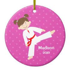 karate ornaments u0026 keepsake ornaments zazzle