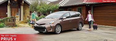 toyota car information 2017 toyota prius v model model research information tacoma wa