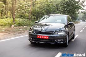 2017 skoda rapid review test drive motorbeam