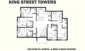 5 bedroom floor plans 2 floor plans king towers