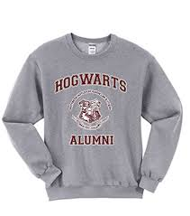 hogwarts alumni sweater allntrends unisex crewneck hogwarts alumni at women s