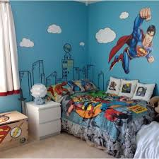 Room Decor For Boys Bedroom Batman Boys Room Superman Bedroom Decor