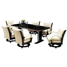 kitchen table with swivel chairs swivel kitchen chairs without casters on wheels table and with amp
