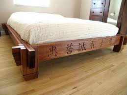 Woodworking Projects Platform Bed by 38 Best Camas Images On Pinterest Wood Bed Frames 3 4 Beds And