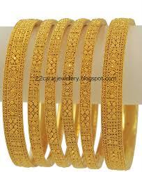 gold set gold bangles set from meena jewellery jewellery designs