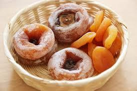 korean food photo maangchi s persimmon punch maangchi com gotgamssam walnuts wrapped in persimmons recipe maangchi com