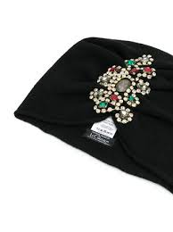 jewelled headband le chapeau jewelled brooch headband farfetch