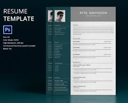Best Resume Templates Psd by 40 Resume Template Designs Freecreatives