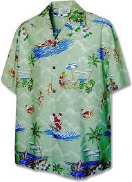 Hawaii Travel Shirts images Christmas santa claus hawaiian shirt at amazon men 39 s clothing jpg
