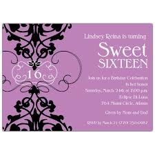 sweet 16 invitations fleur lavender sweet 16 invitations the 16th year of