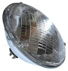 7 u0026 034 round sealed beam halogen headlights headlamp light bulbs
