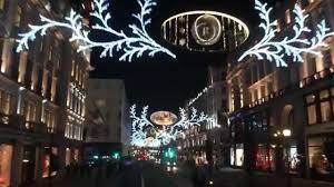 christmas lights regent street u0026 oxford street london 2014 youtube