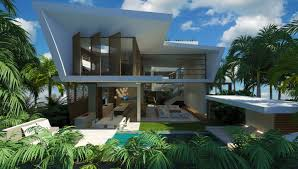elevated house plans waterfront modern bedroom beach interior