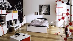 awesome ideas modern bedroom designs for small rooms wonderful red