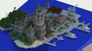 World Of Keralis Map by Modern Medieval Port In Minecraft Stuff Pinterest Medieval