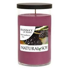 buy soy black mulberry tree scented soy candle at