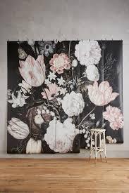 fleurir mural wallpaper floral wallpapers and sticky wallpaper fleurir mural