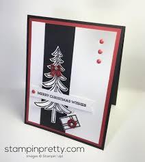 sneak peek christmas card of santa u0027s sleigh stampin u0027 pretty