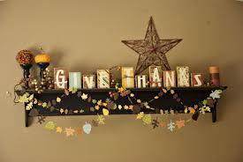 Thanksgiving Home Decorations Ideas Wall Shelf With Thanksgiving Decor Thanksgiving Decorating Ideas